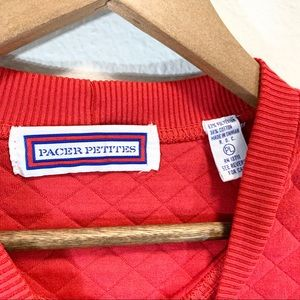 Pacer Petites Sweaters - Pacer Petites • Red Elbow Patch Sweater